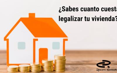 ¿Cuánto cuesta legalizar una casa en Chipiona?